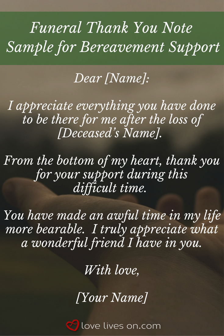 Best Funeral Thank You Cards  Funeral And Bereavement