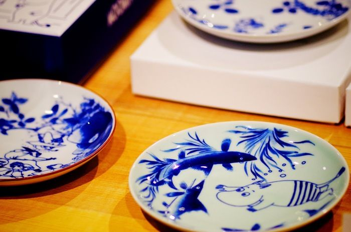 Moomin Plates - Japanese style!