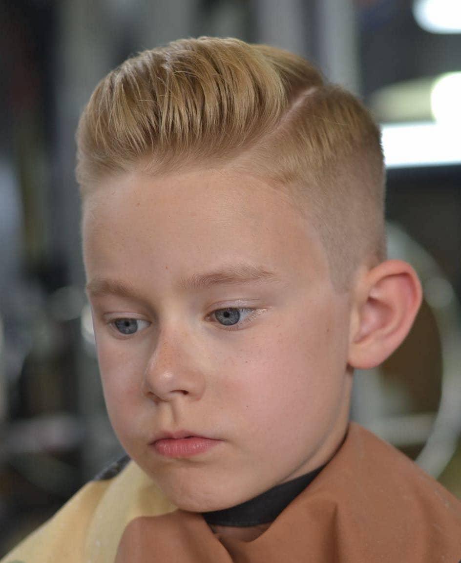 90 Cool Haircuts For Kids For 2019 Jungs Frisuren Coole Jungs Frisuren Kinderhaarschnitte