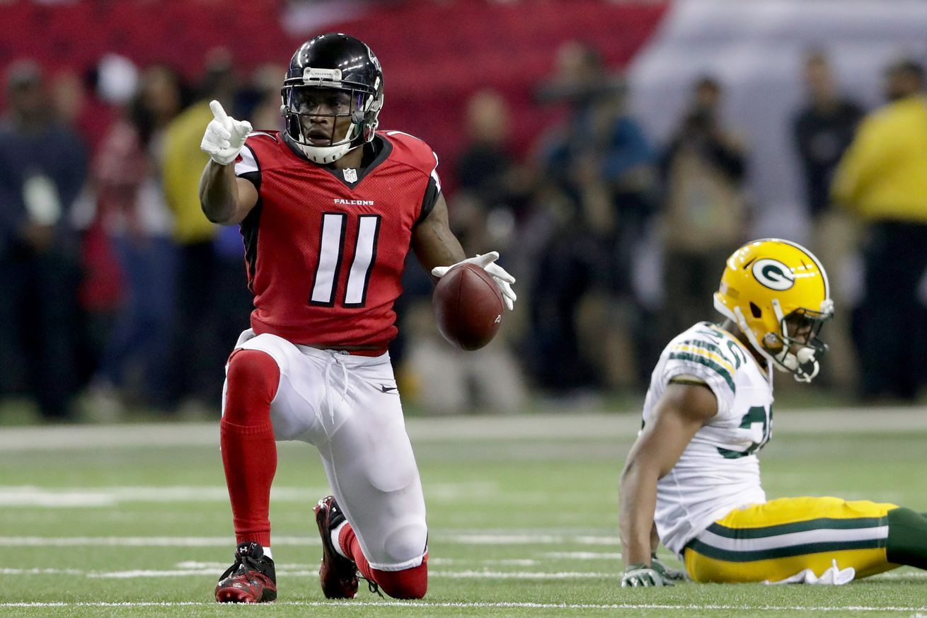 Falcons 44 Packers 21 Final Score Atlanta S Going To The Super Bowl The Falcoholic Julio Jones Superbowl 2017 Nfl Week