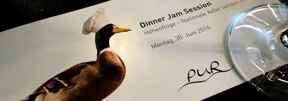 Dinner Jam Session im Restaurant PUR  #DinnerJamSession #PUR