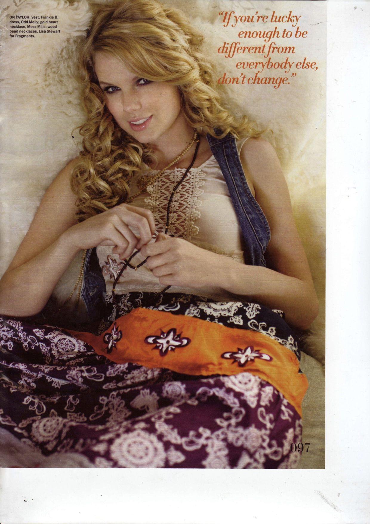 Odd Molly patchwork long dress in Seventeen Netherlands June 2008