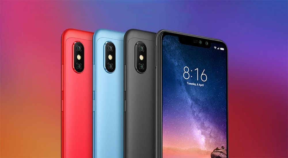 Xiaomi Redmi Note 6 Pro 6 26 inch 4G Phablet International