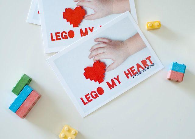Lego My Heart Valentine February Fun Pinterest Lego