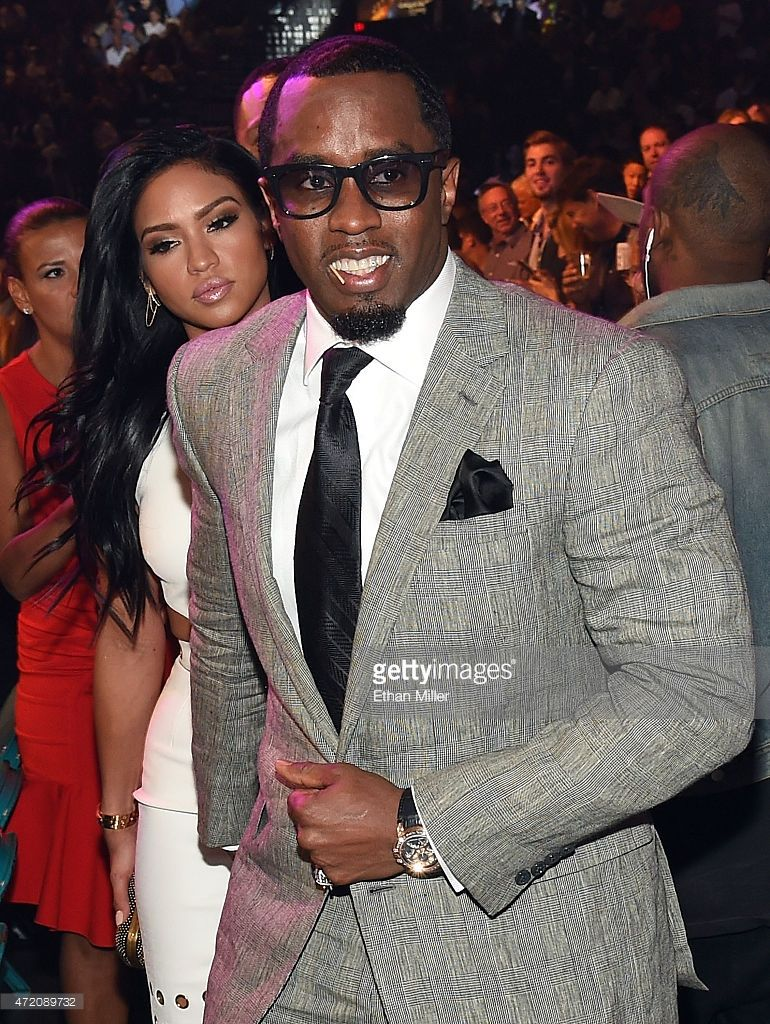 Recording artist Sean 'Puff Daddy' Combs and model Cassie ...