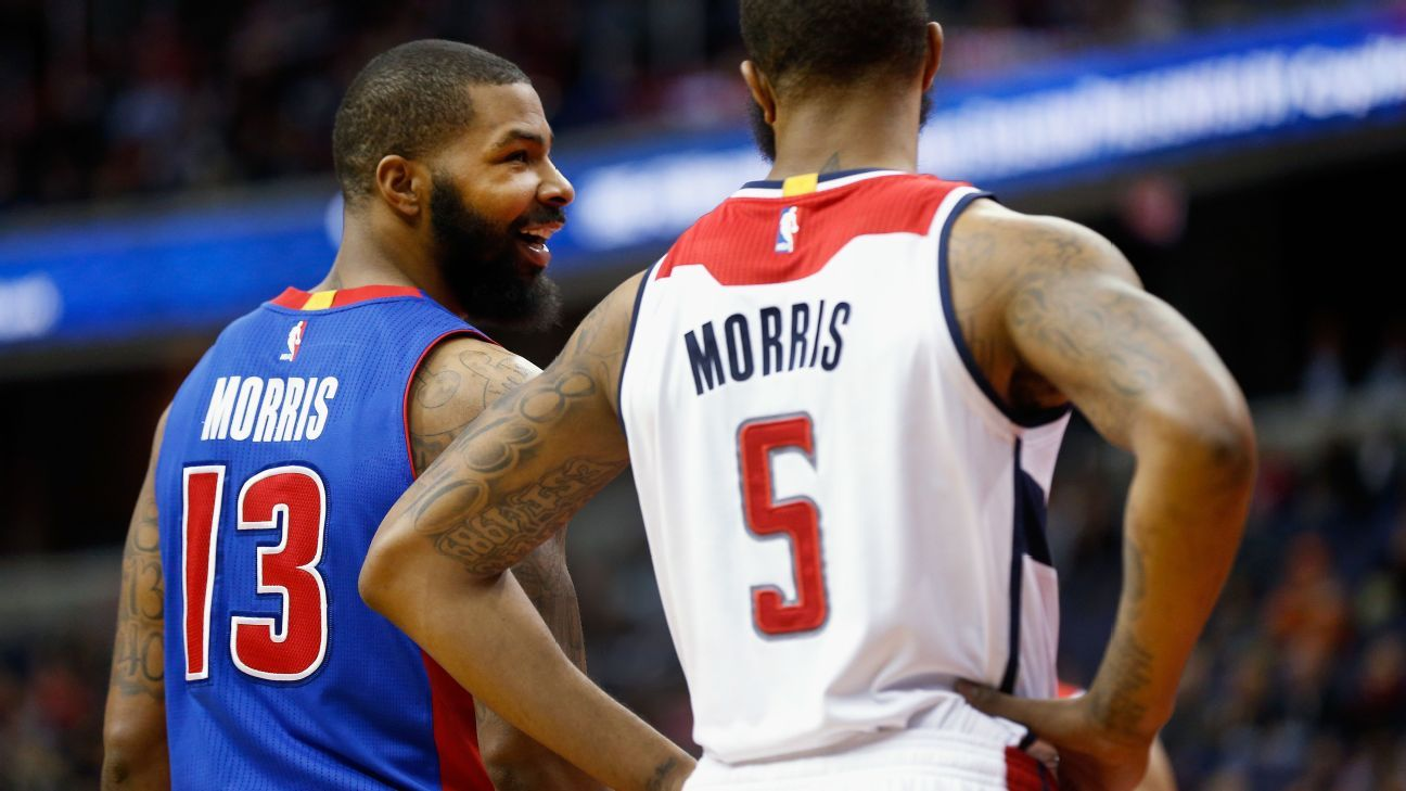 Top Fantasy Basketball Waiver Wire Pickups At Every Position Markieff Morris Fantasy Basketball Marcus Morris
