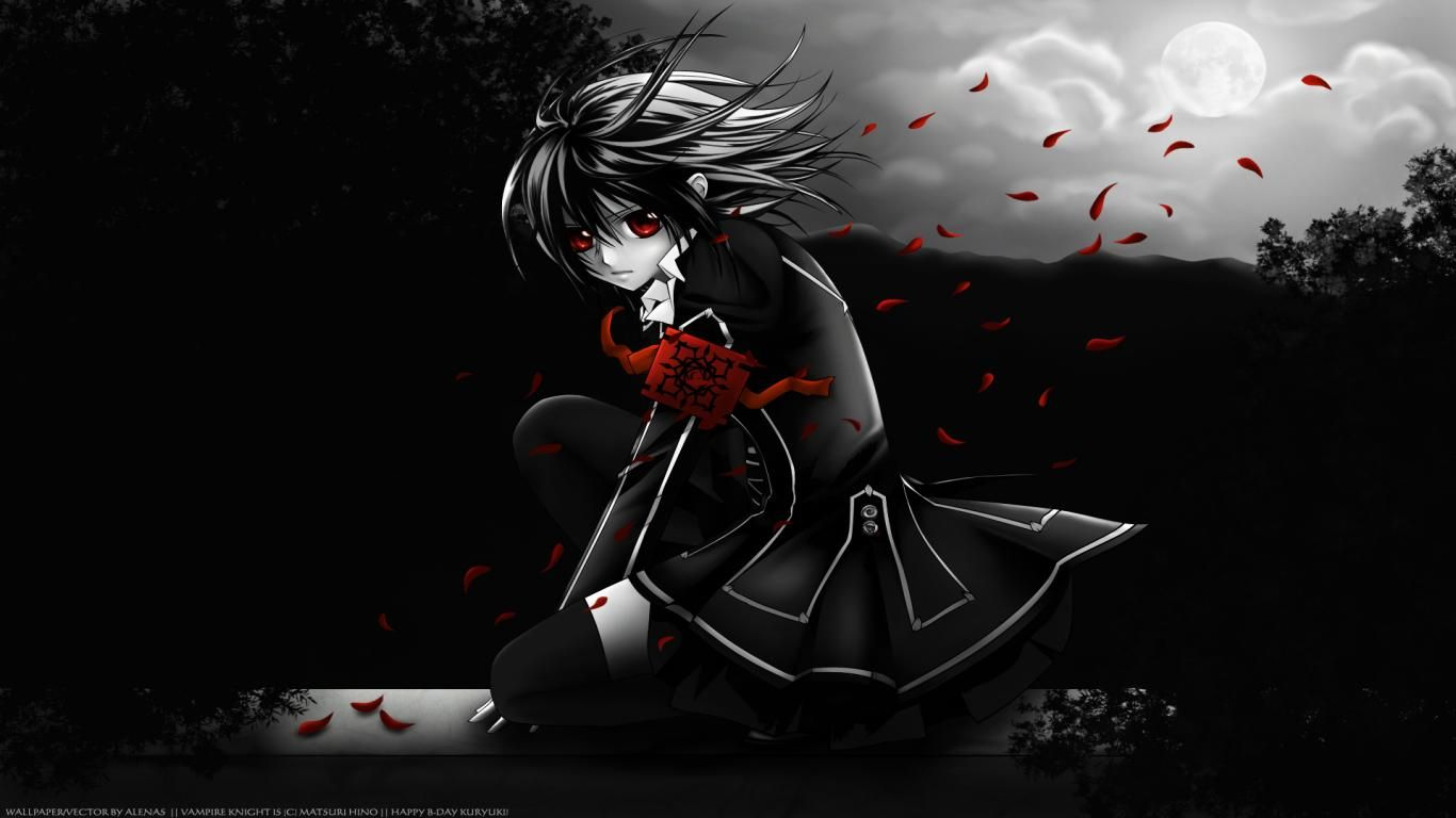 Anime Vampire Girl Wallpaper In 2020 Android Wallpaper Anime Dark Anime Vampire Knight Yuki Anime vampire wallpapers for android