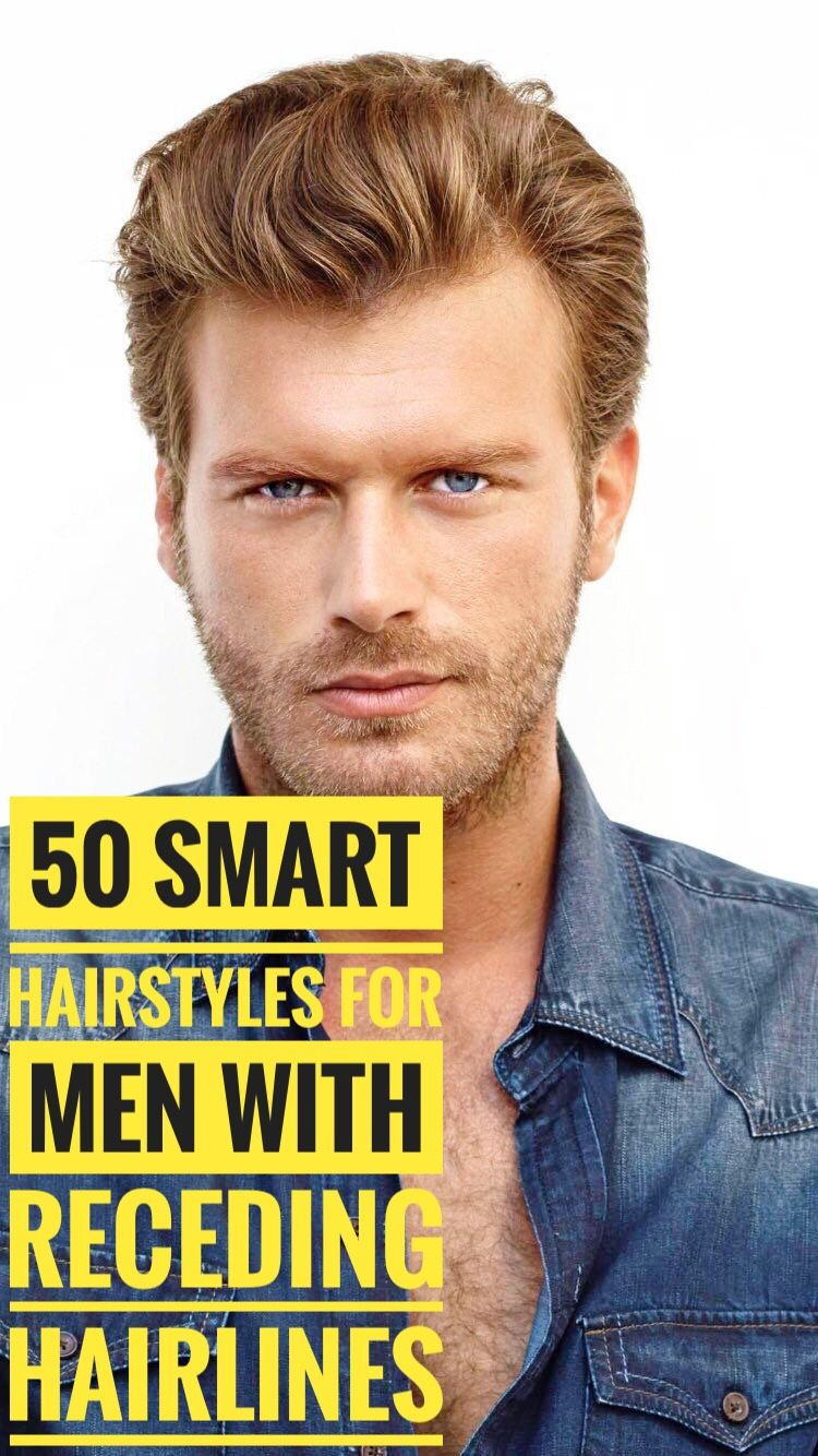 50 Smart Hairstyles for Men with Receding Hairlines #hair ...