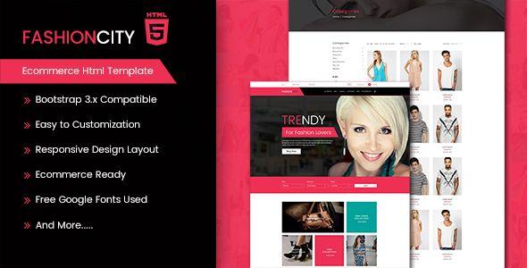 Image Wallpaper » Fashion City Website