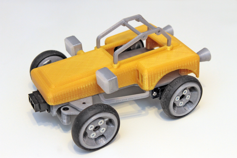 Read Me First! | Sandblaster - 3D printed sand buggy | Adafruit Learning System