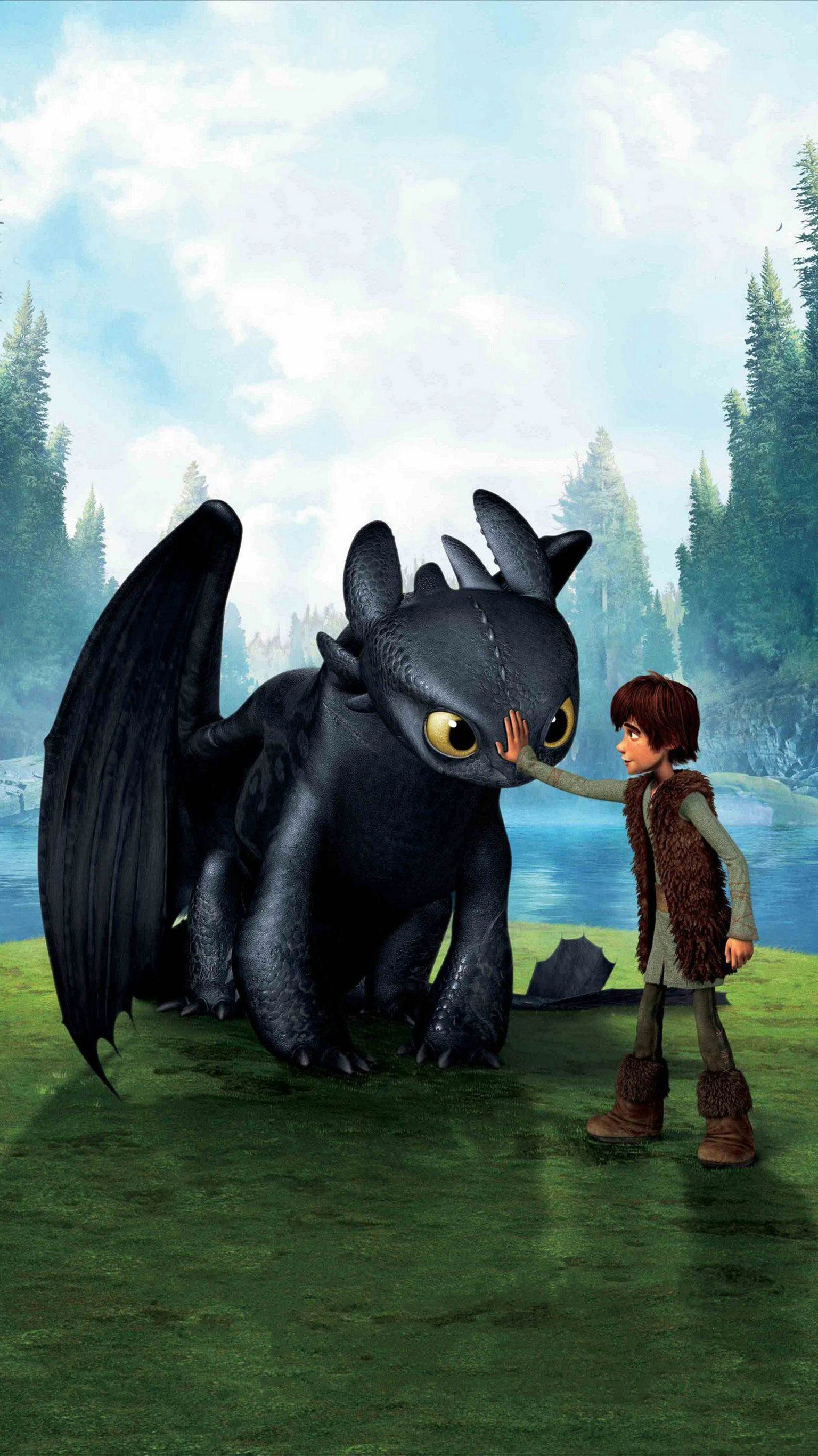 How To Train Your Dragon 2010 Phone Wallpaper Moviemania How Train Your Dragon How To Train Your Dragon Dragon Movies