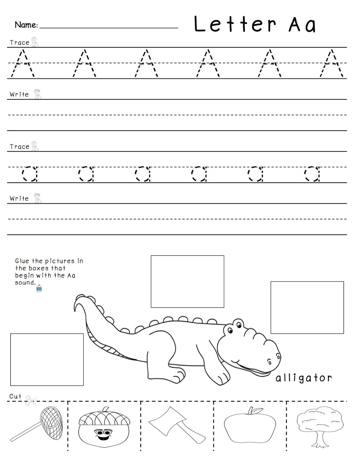Letter And Letter Sounds Practice
