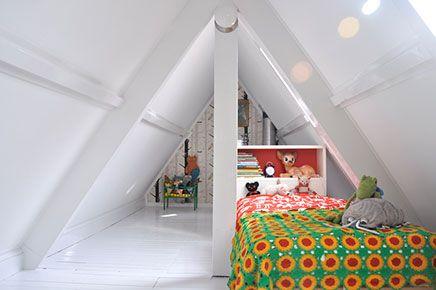 Kinderkamers Op Zolder : Kinderkamer op zolder children interior habitaciones