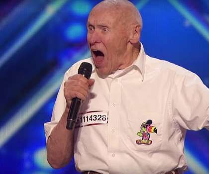 82-Year-Old Man Blows Away 'America's Got Talent' Audience With Drowning Pool Co... - Provided by TheWrap