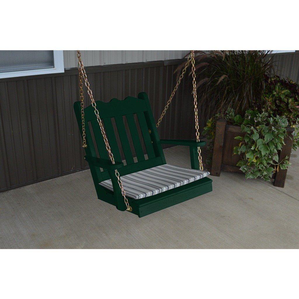 A u l furniture co yellow pine u royal english chair swing pine