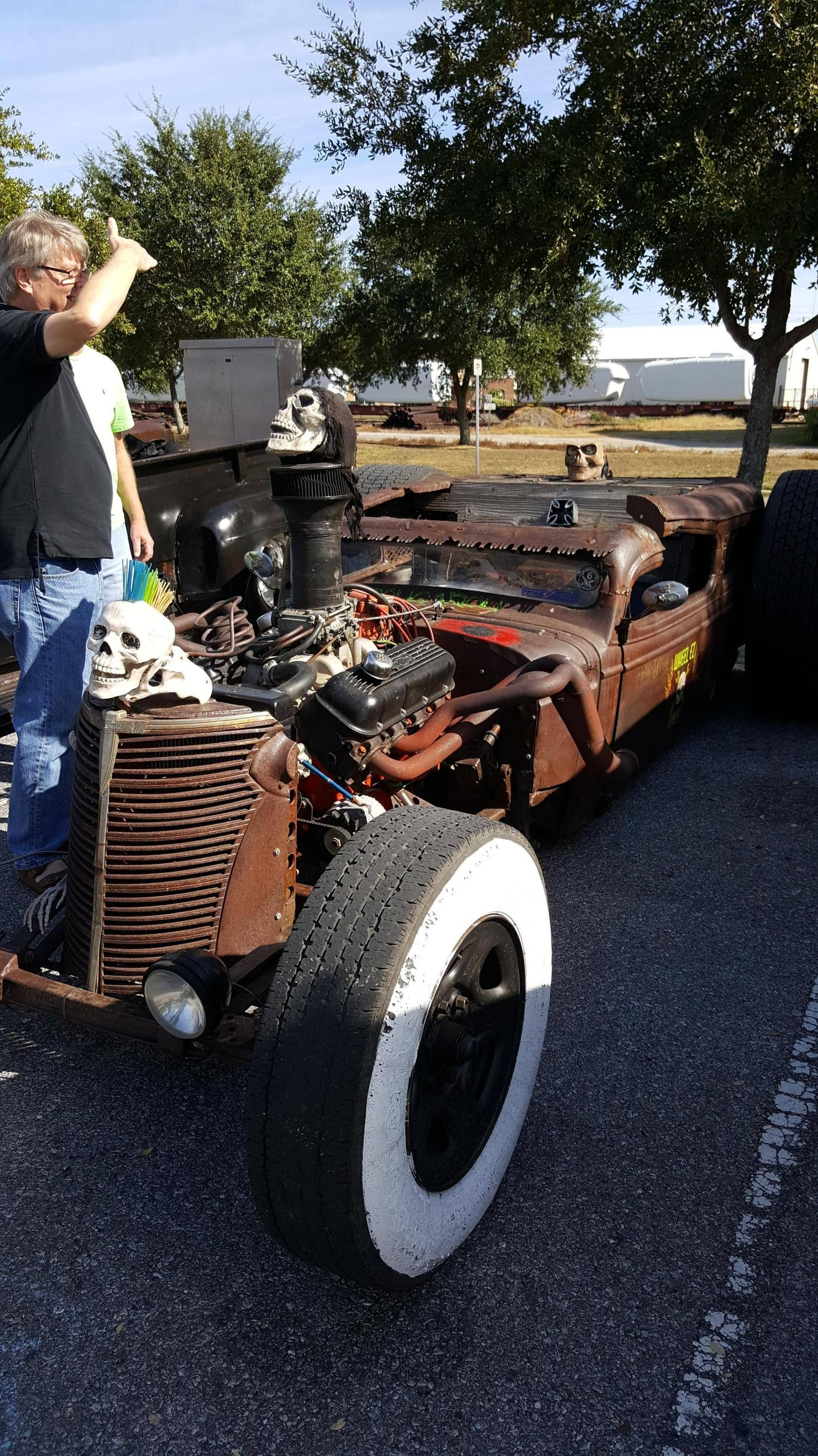 Amazing Rat Rod From A Car Meet Today In Pensacola Accelerate - Car meets near me today