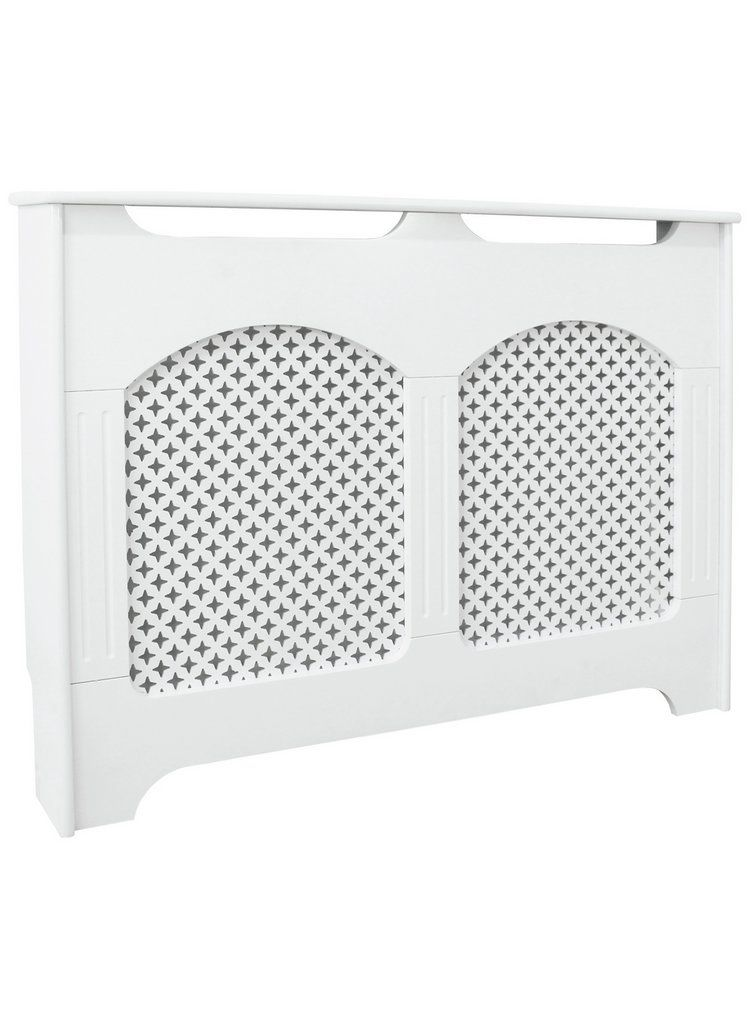 Buy Collection Winterfold Small Radiator Cover - White at Argos.co ...