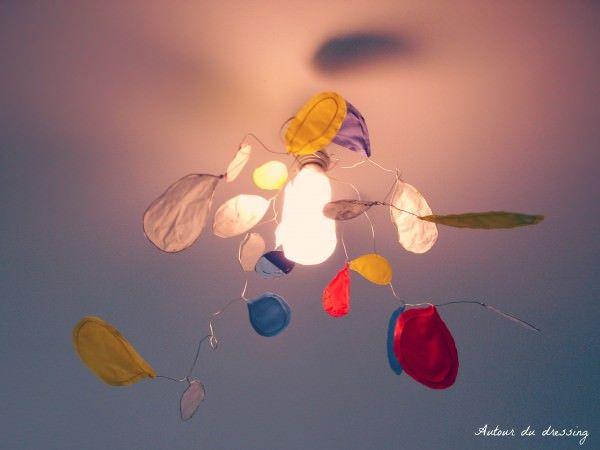 Diy Calder lamp