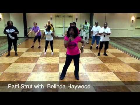 Patti Strut Line Dance Step By Step Instruction Simple Line Dance I Really Want To Learn To Do Some More Complicated Ones But Line Dancing Dance Steps Dance