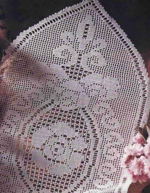 Schemi Per Il Filet Centro Ovale Con Rosa Centrale Schemi Gratis