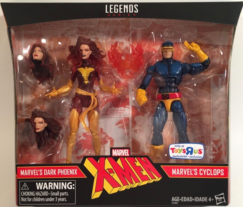 Marvel Legends X Men 2 Pack Dark Phoenix Cyclops 6 Figurestru Exclusive Marvel Legends Marvel Marvel Toys