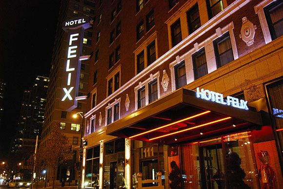 Felix Hotel Chicago Illinois Chicago Hotels Chicago