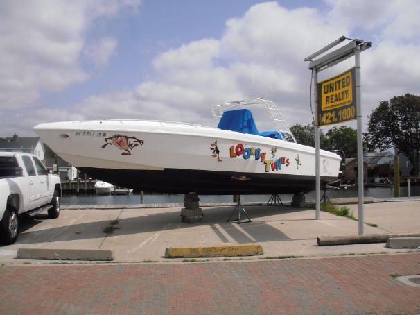 1987 Wellcraft 34 Scarab Super Sport Power Boat For Sale - www