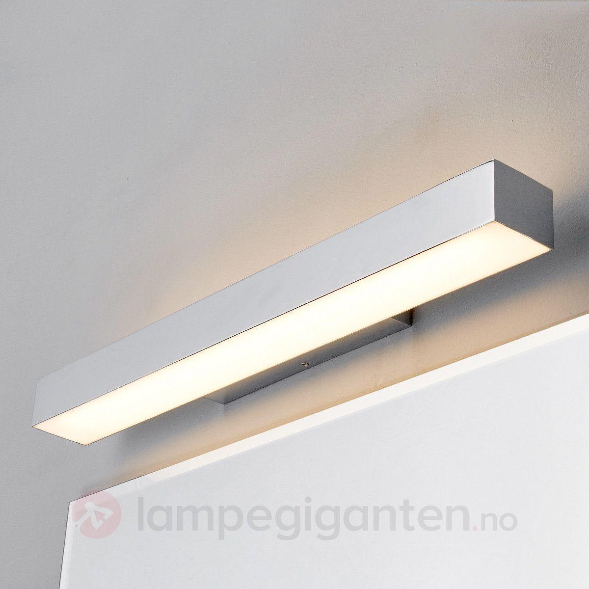 Kiana Krom Vegglampe Med Led 9641030 Vegglampe Led Lys
