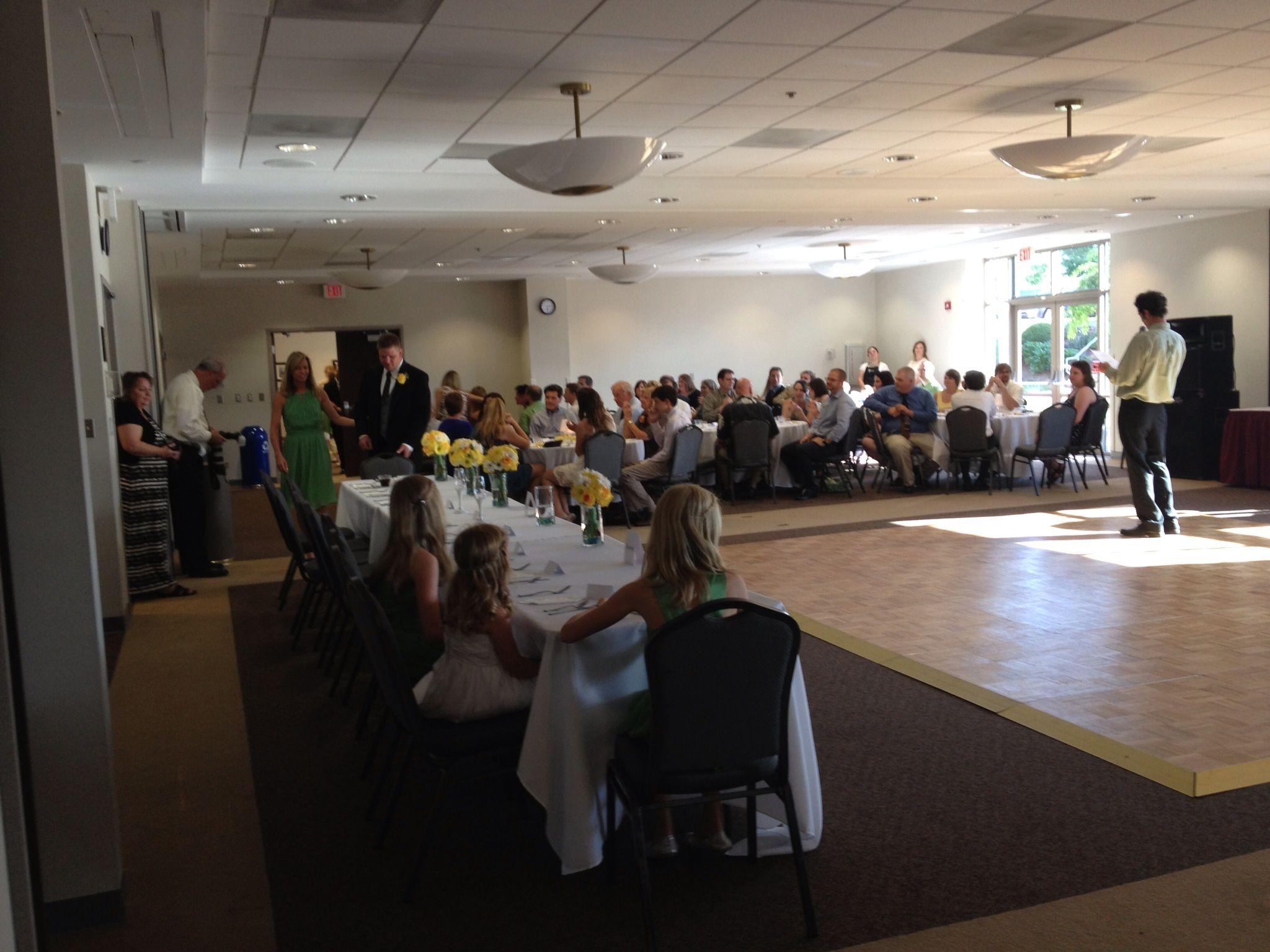 Economical Wedding Reception Venue Rental At Ida Lee Recreation Center In Leesburg VA