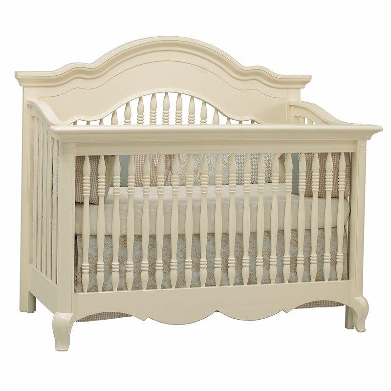 Julia Convertible Crib White Linen 383674631 In Only Cribs Furniture Burlington Coat Factory