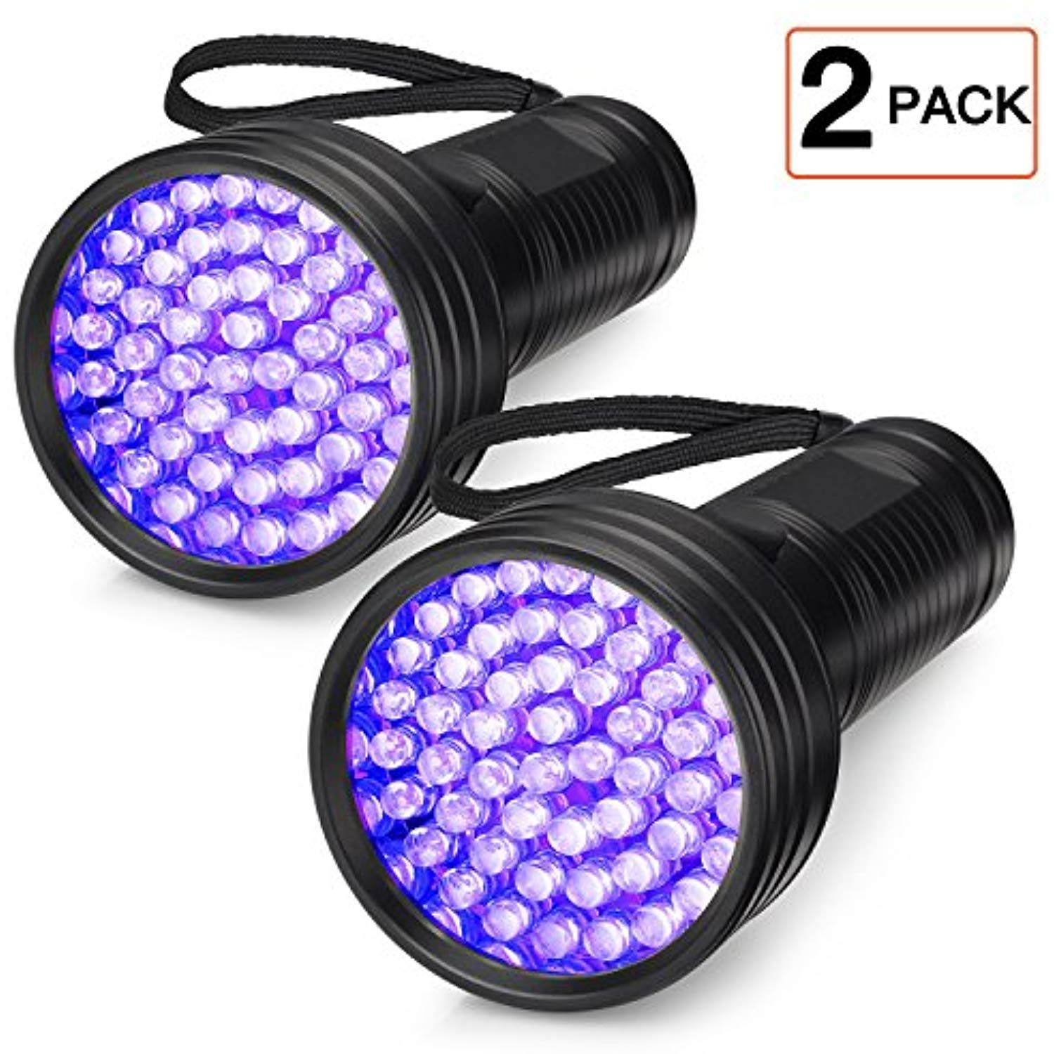 UV Flashlight Black Light, FOLKSMATE 51 LED 395 nM