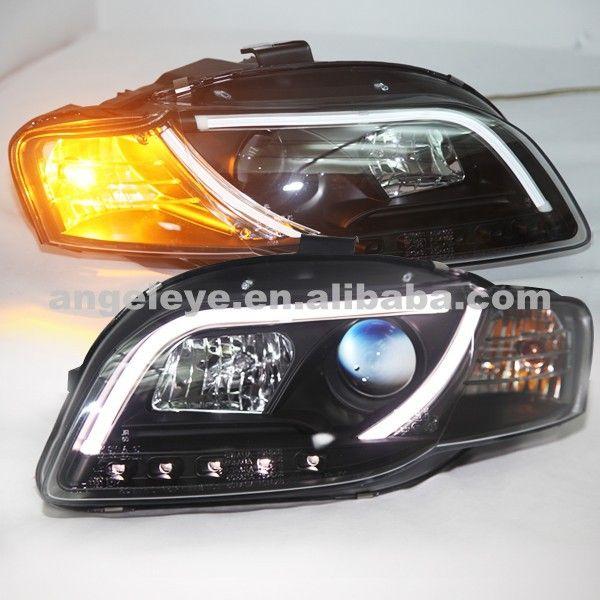 For Audi A4 B7 Led Head Lamp Led Head Lights Front Light 2005 2008 Year V2 Type Audi A4 B7 Led Headlights Audi