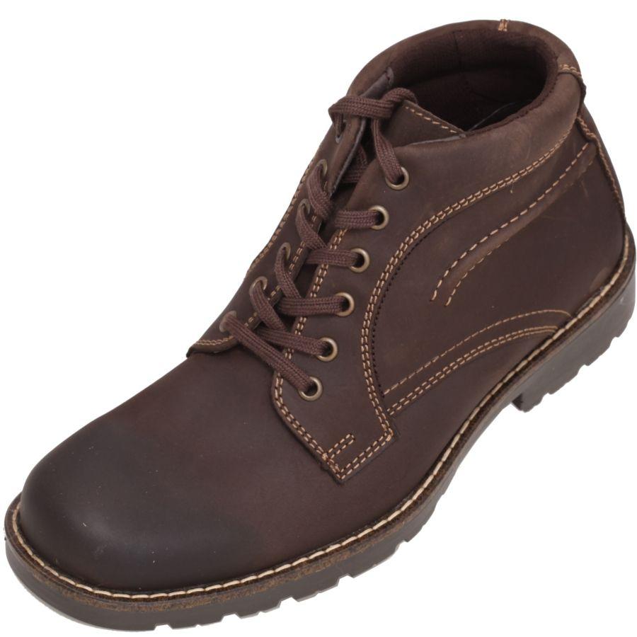 938dd6f3 Zapatos para #Jeans en color #Cafe marca Flexi. Una bota fácil de ...