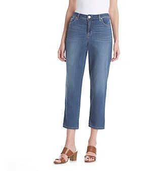 Bandolino® Karyn Boyfriend Denim Capri Pants | Products ...