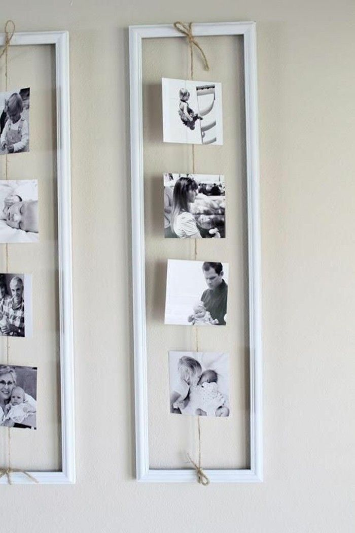 Photo of Make your own photo wall: 66 wonderful ideas and inspirations