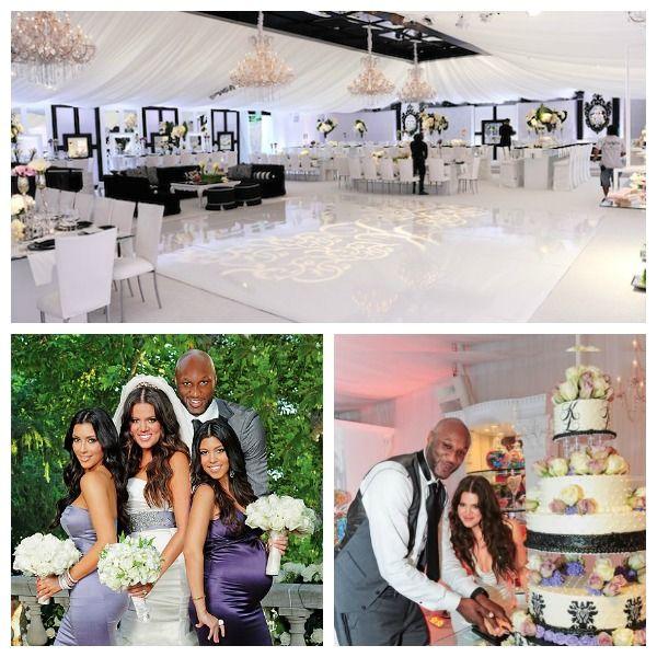 Chloe And Lamar Wedding Decor Celebrity Weddings