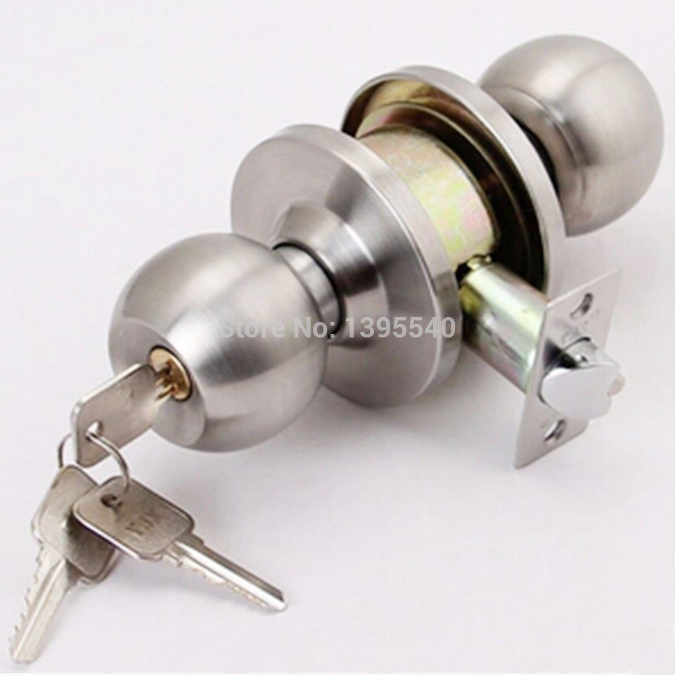 Key In Door Lock Lock Cylinder New Indoor Door Lock Cylindrical Ball ...