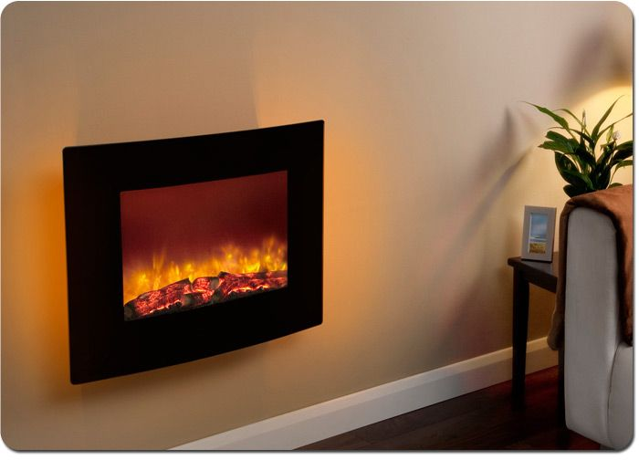 Quattro wall mounted electric fire | For the Home | Pinterest ...