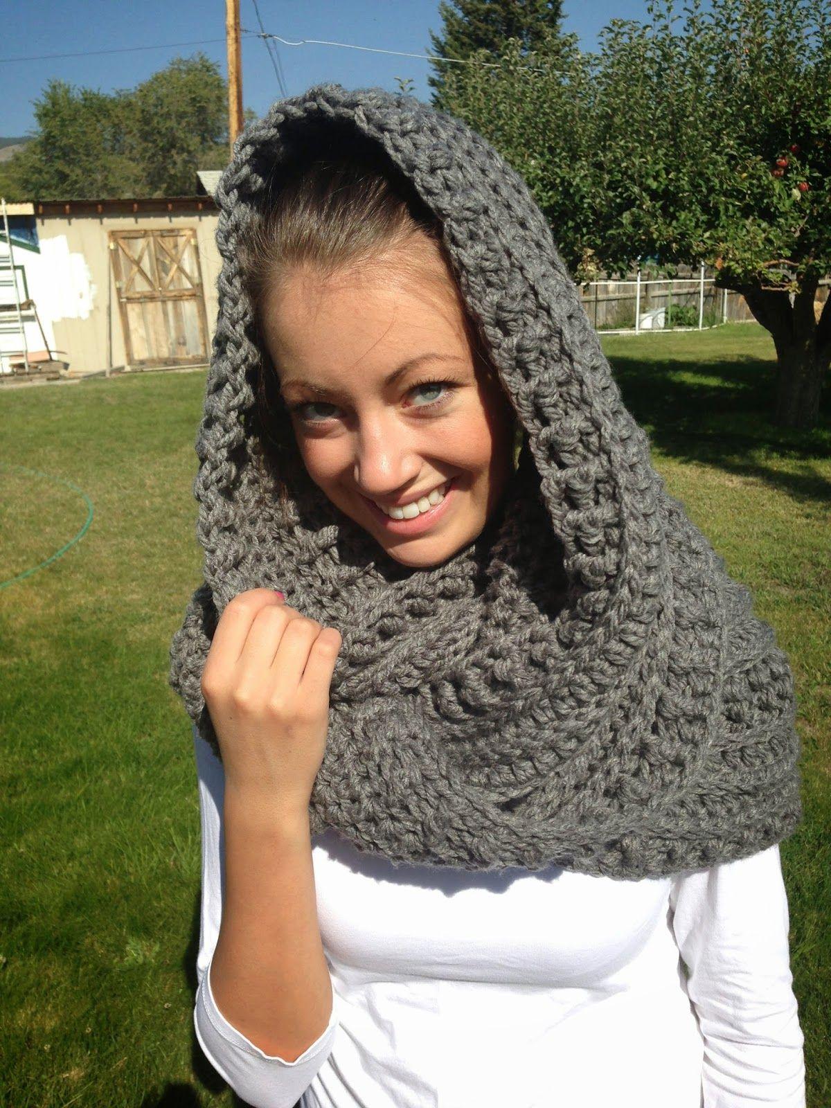 Bufanda - capucha - cuello infinito. | Crochet | Pinterest ...
