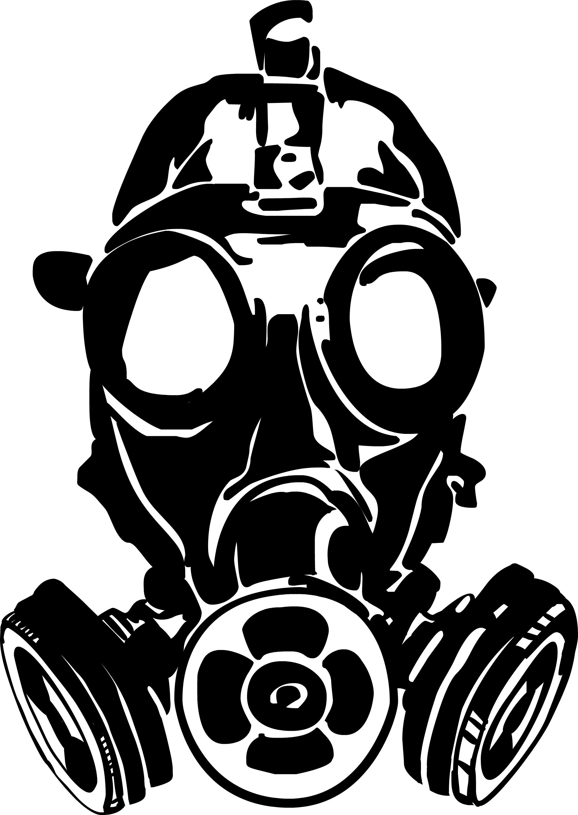 44 best gas mask tattoos collection - Recently Someone Expressed Their Concern Over Their Children Having Been Exposed To Jess