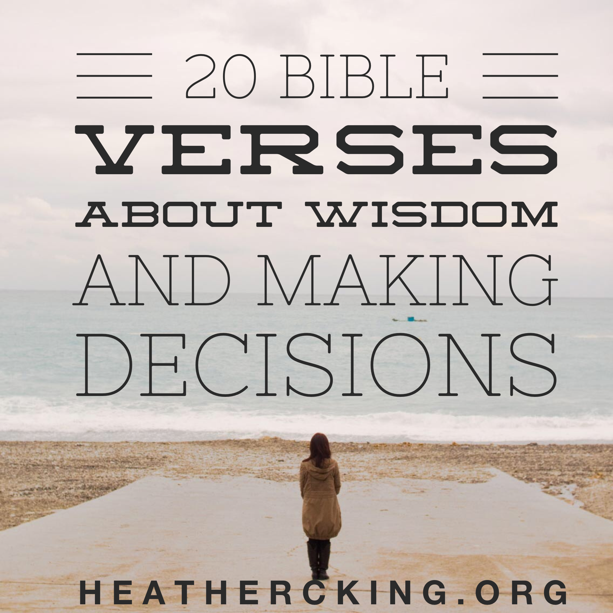 20 Bible Verses On Wisdom And Making Tough Decisions