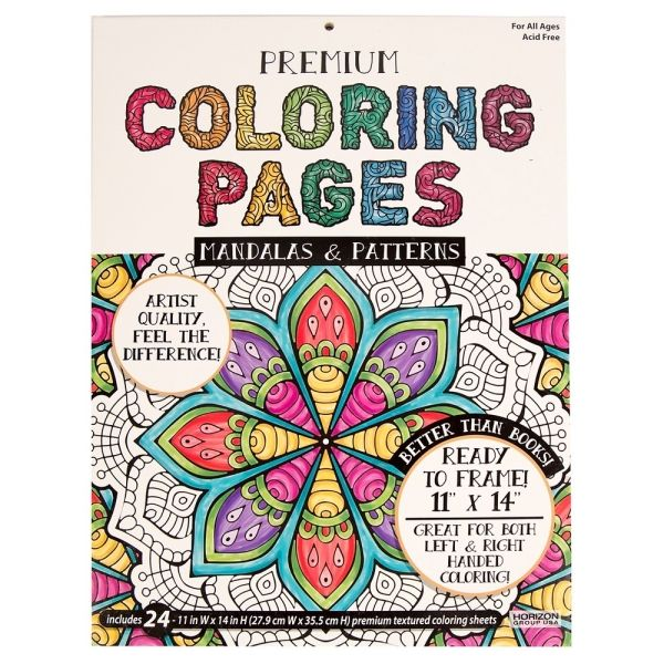 premium coloring pages florals and botanicals 399 by target