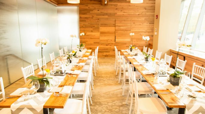 Wedding Shower In Our Crick/Franklin Private Room. Catalyst Restaurant,  Cambridge