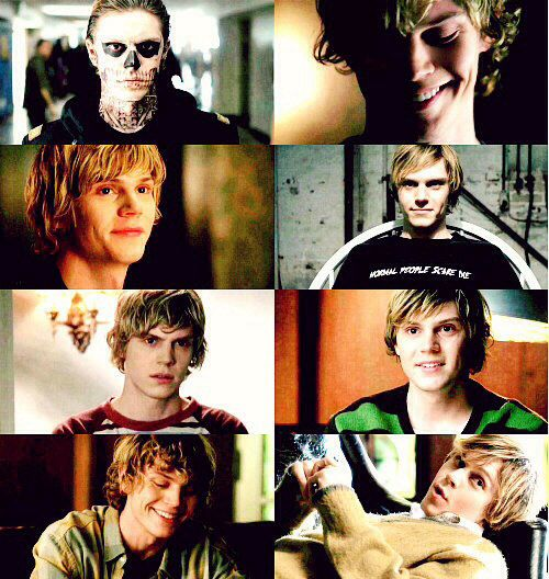 Tate Langdon  I don't know if I like the actor or the character more and that is pretty terrifying. (Jk I definitely like the character more which is much much worse)