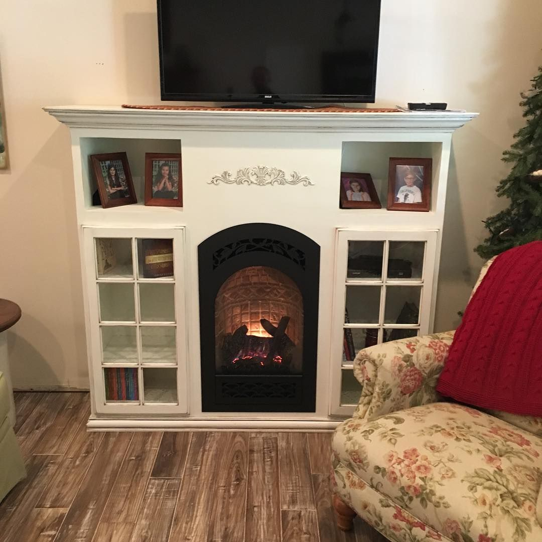 Small Gasfireplace For A Smallspace Fireplacesplus Manahawkin Nj Lbi Happycustomer Customcabinet Taylormade Fpx Fireplace Small Spaces Gas Fireplace