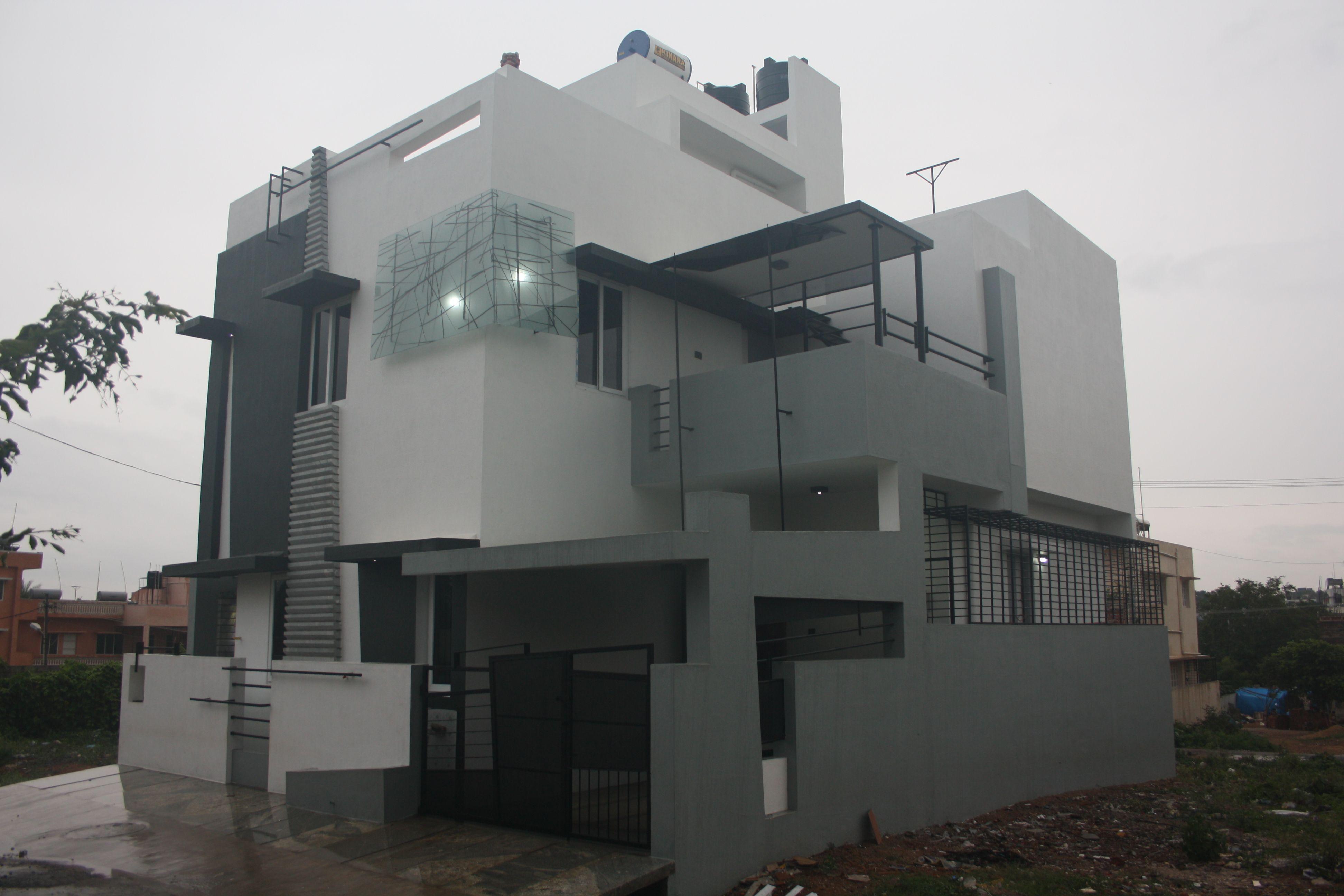 Pin von Ashwin Architects Bangalore auf Front Elevation Designs ...
