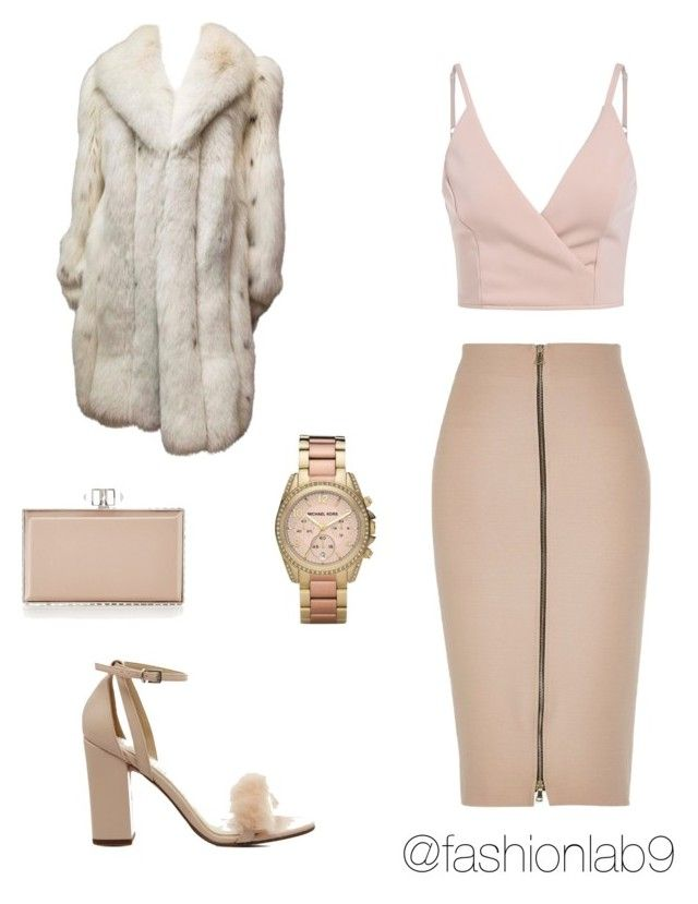 """""""Untitled #1020"""" by alana-andrea-bacchus on Polyvore featuring Michael Kors, River Island, Office and Judith Leiber"""