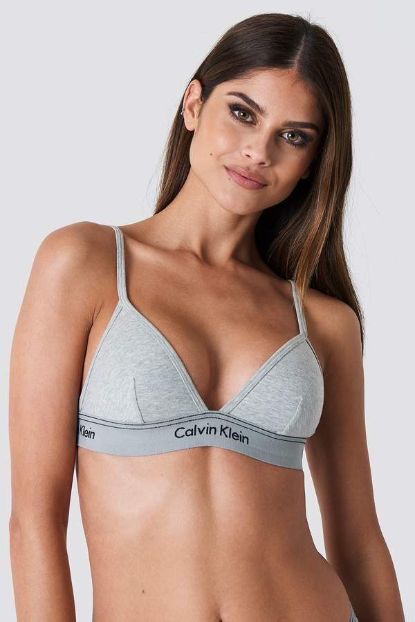 51d63807f64 Calvin Klein Unlined Triangle Bra Black