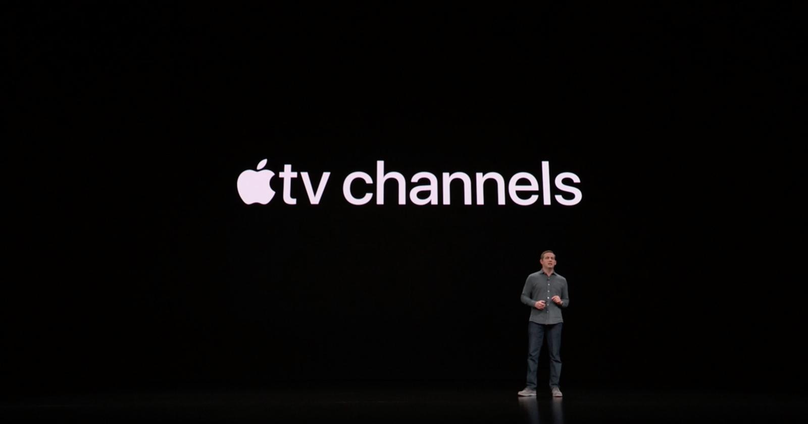 Apple announces 'allnew' TV app with 'Apple TV Channels