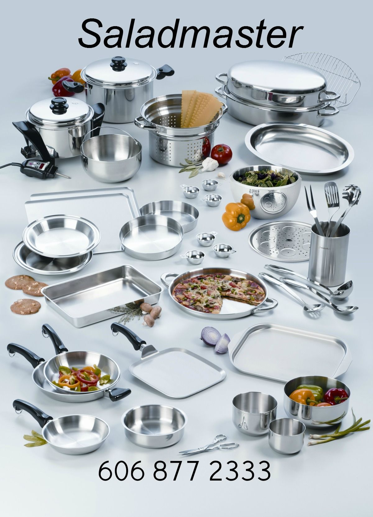 Saladmaster Cookware 316 Stainless Steel It S Bakeware Servingware Storageware All In One